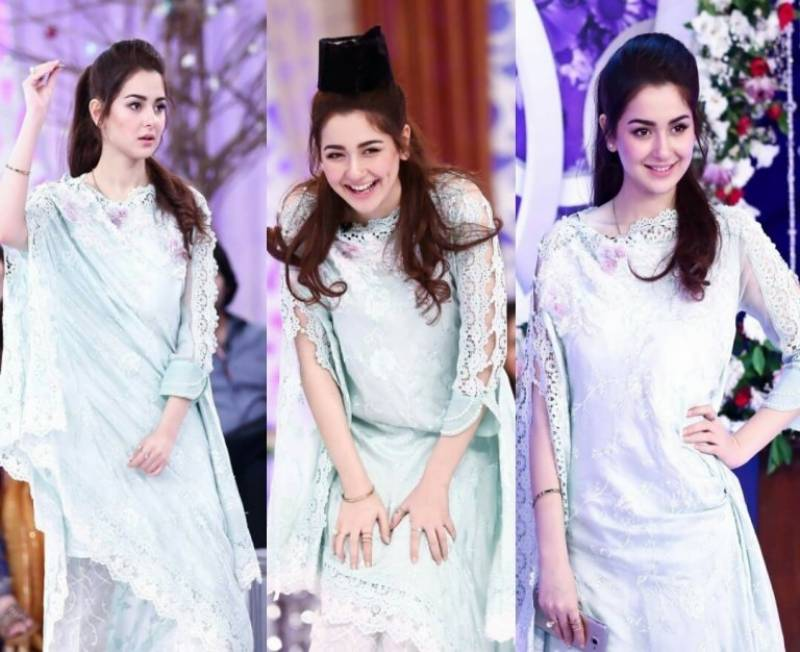 Fans have fallen in love with Hania Amir's latest Instagram post