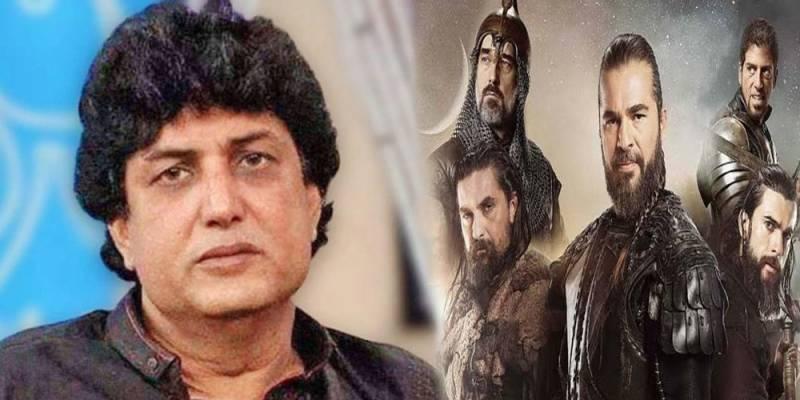 Khalil-ur-Rehman, Humayun Saeed planning to team up for show like 'Diriliş: Ertuğrul'