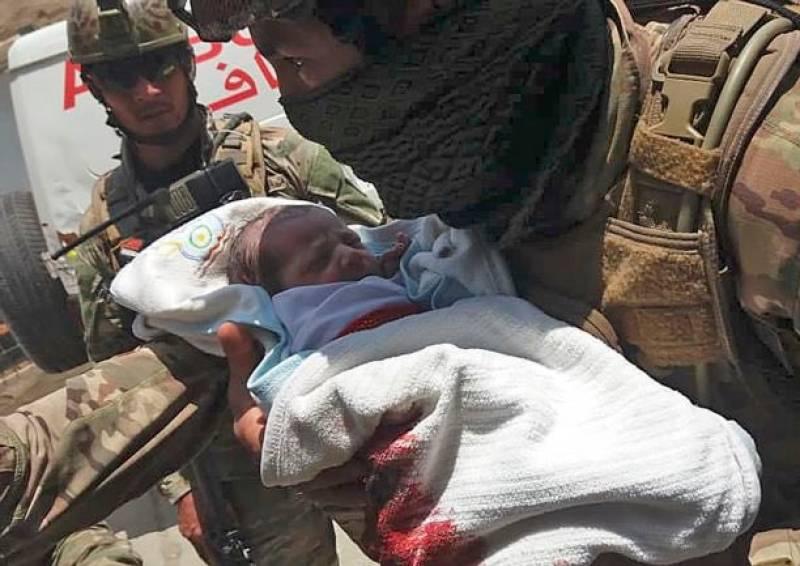 Newborns, nurses among 37 dead in Afghan terror attacks