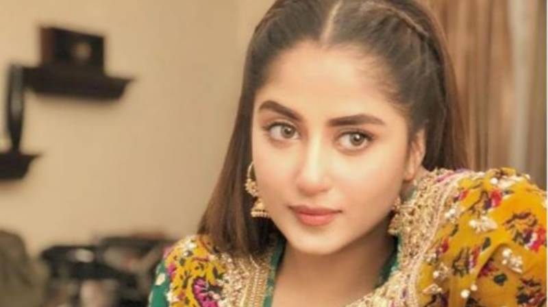 Sajal Aly shares throwback picture from drama serial 'Alif'
