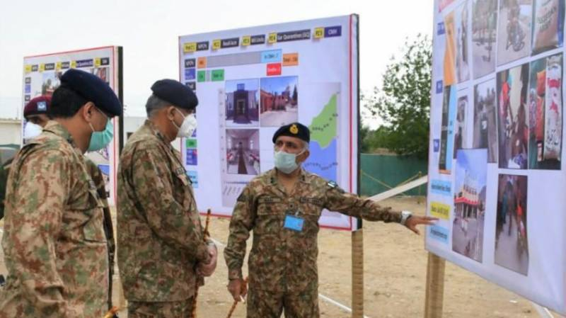 Army chief in Balochistan to inspect border security, relief efforts for COVID-19