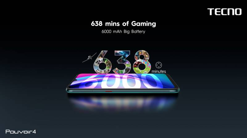 TECNO Pouvoir 4 is all set to challenge the gaming features