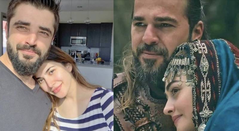 Twitter believes Hamza, Naimal are ideal for portraying Ertugrul, Halime onscreen