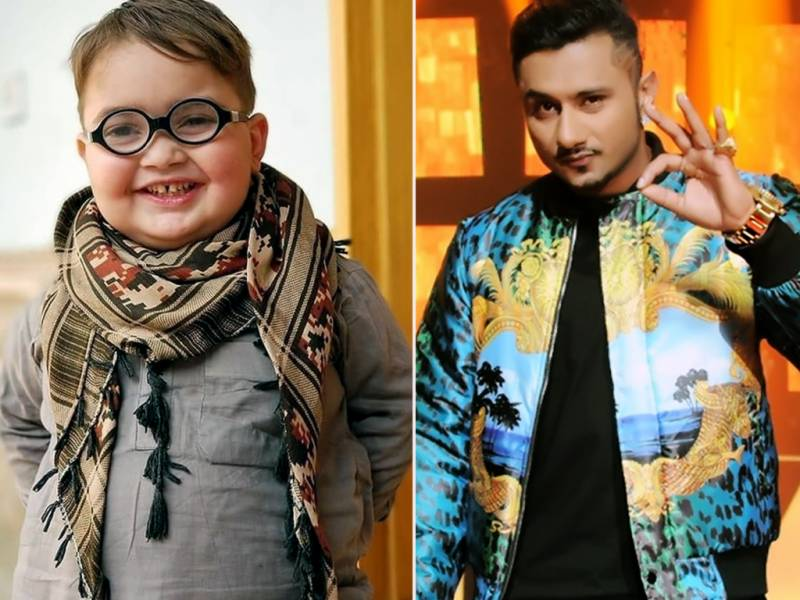 Honey Singh sends love to his 'favorite kid' Ahmed Shah