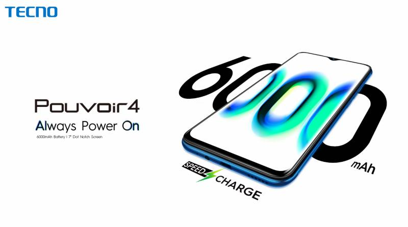 TECNO's Pouvoir 4 build for gaming fans and videographers launched in Pakistan
