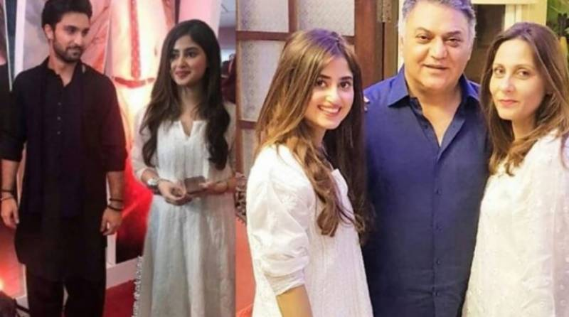Sajal Ali's mother-in-law is all praise for her