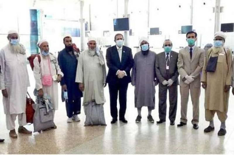 249 Pakistanis stranded in Khartoum leave for home