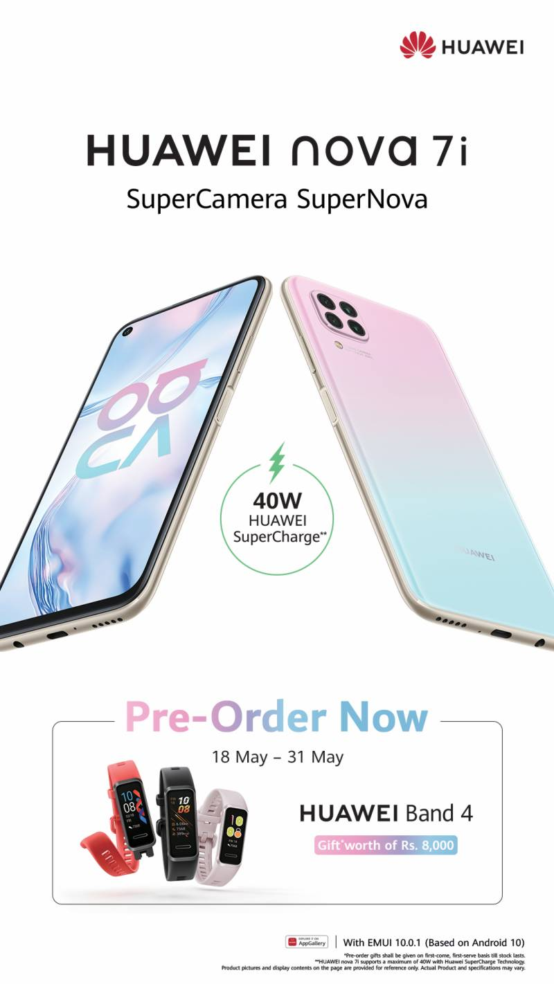 Huawei Nova 7i opens for pre-orders in Pakistan