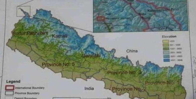 New Nepal map heightens territorial dispute with India