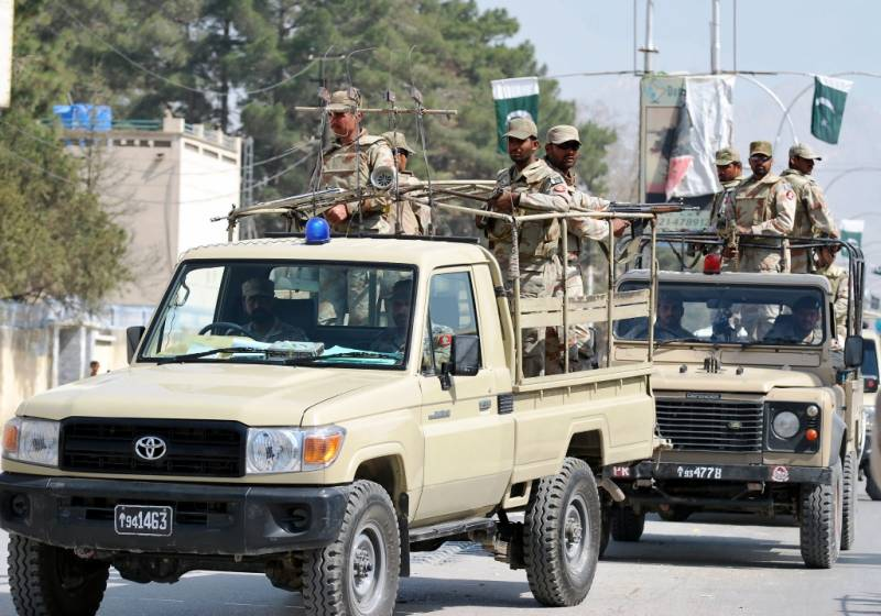 Seven FC soldiers martyred in two separate terrorist attacks in Balochistan: ISPR