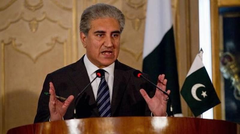 India behind conspiracies in Balochistan: FM Qureshi