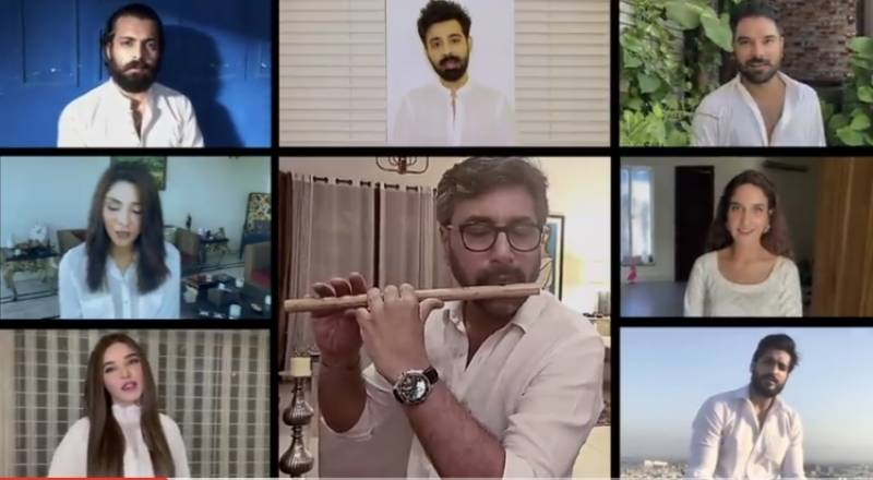 Pakistani celebs pay tribute to frontline workers in the best way possible