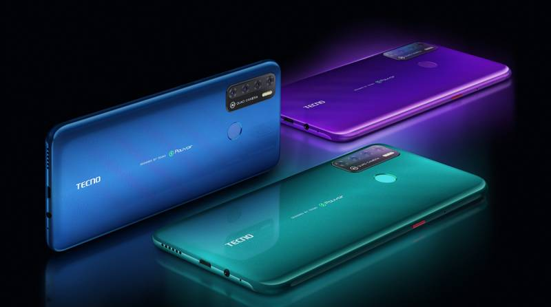 Tecno Pouvoir 4 Series: Powerful, Striking & high-function Smartphone