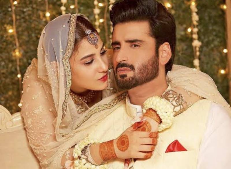 Hina Altaf and Aagha Ali are now married