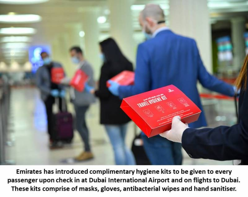 Emirates sets leading safety standard for customers travelling as it resumes operations