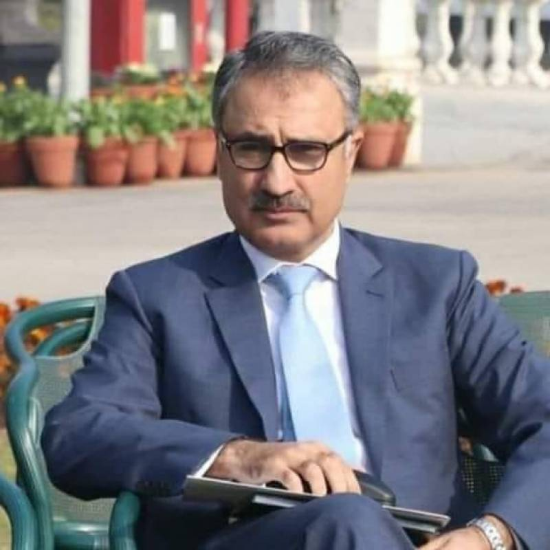 KP chief secretary tests positive for COVID-19