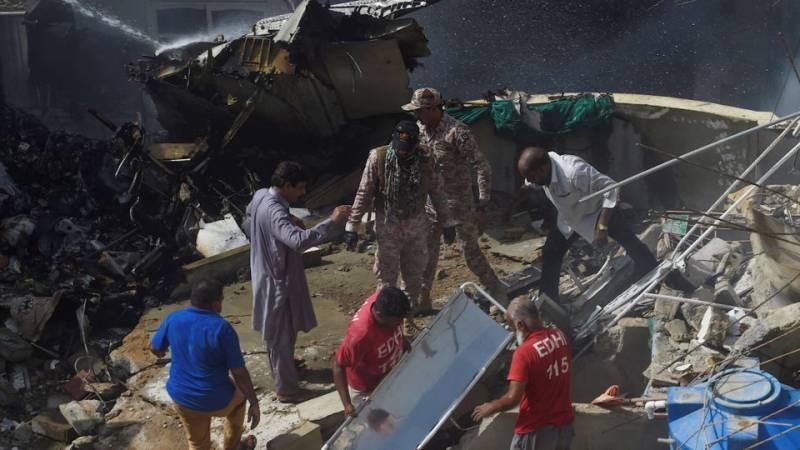 Shocking — Rs30 million found under PIA plane debris