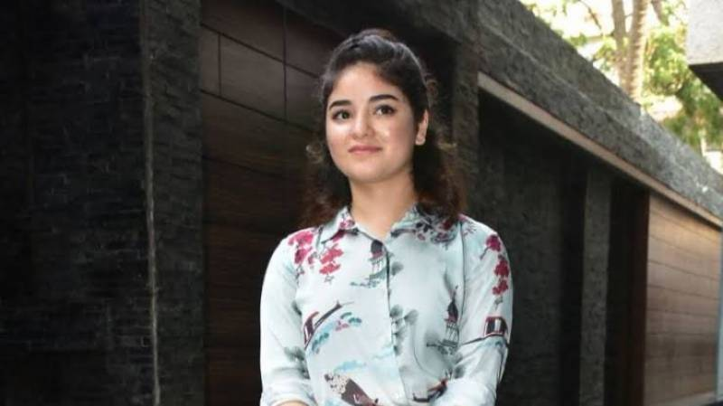 Zaira Wasim deactivates social media accounts over trolling