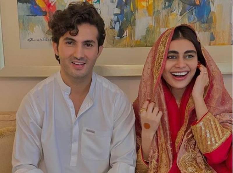 Shahroz Sabzwari, Sadaf Kanwal tie the knot amid COVID-19