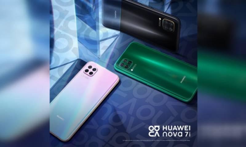 Huawei Nova 7i goes on sale in Pakistan