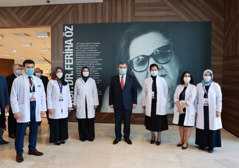 Turkey opens new hospital for COVID-19 patients in Istanbul
