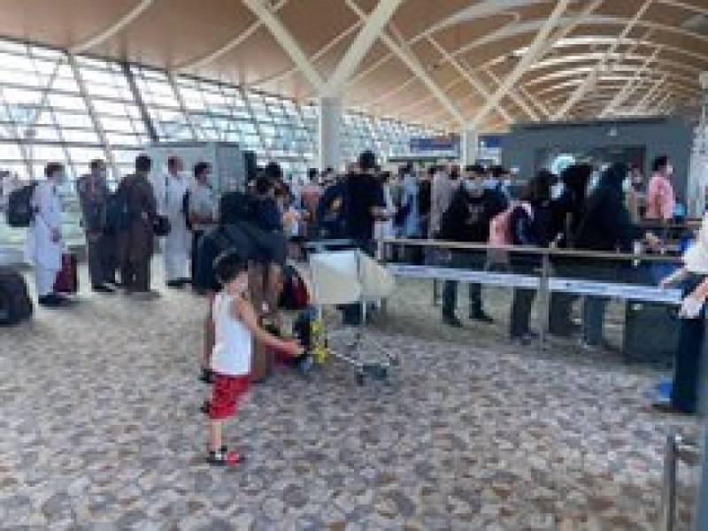 COVID-19: 206 stranded Pakistanis leave Shanghai for Karachi