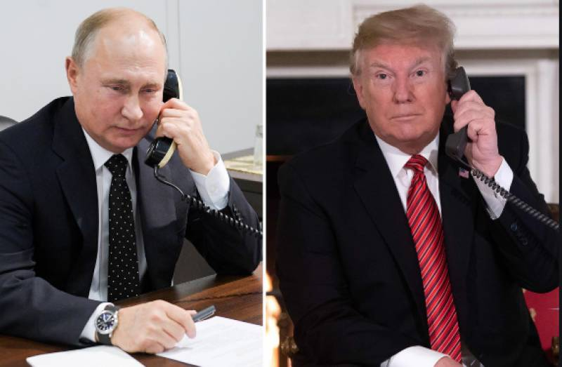 Trump, Putin discuss counter COVID-19 measures, G-7 summit