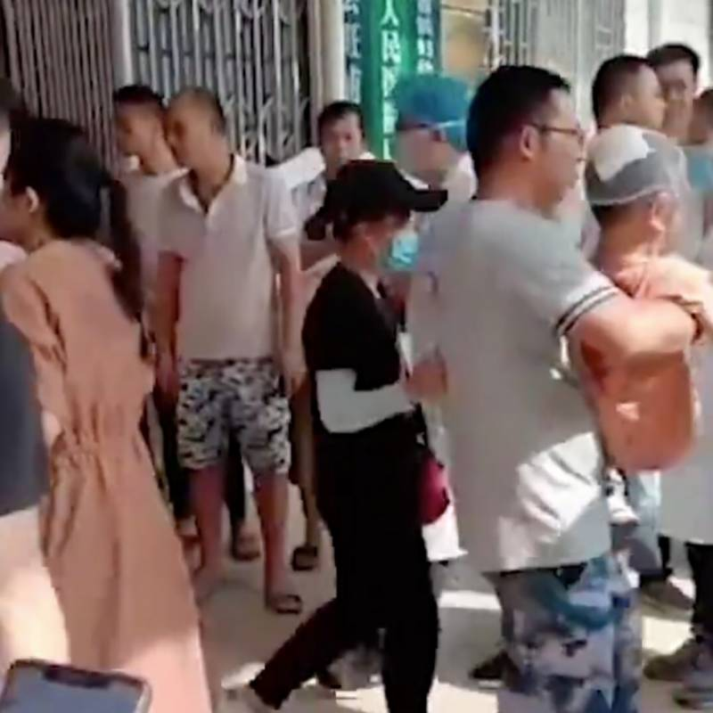 At least 40 students, staff hurt in knife attack at school in China
