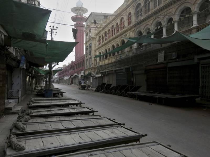 All major markets closed, public transport off road as Sindh undergoes smart lockdown