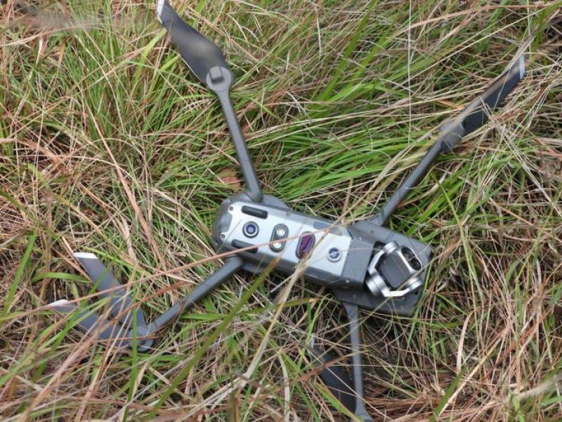 Pak army shot down yet another Indian spying quadcopter in Khanjar Sector along LoC