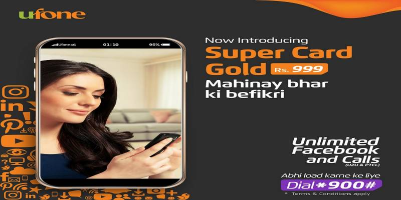 Ufone introduces Super Card Gold