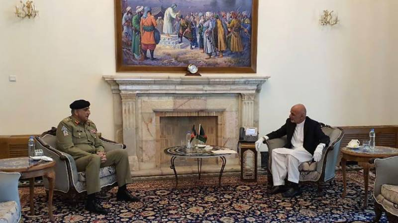 COAS Gen Bajwa, Afghan leadership discuss Afghanistan peace process