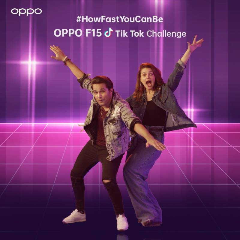 Groove on #HowFastYouCanBe OPPO F15 beats on Tiktok and Win OPPO F15