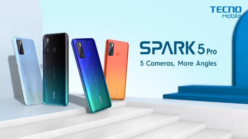 Tricks to capture great photos with new Spark 5 Pro, A multi-camera device