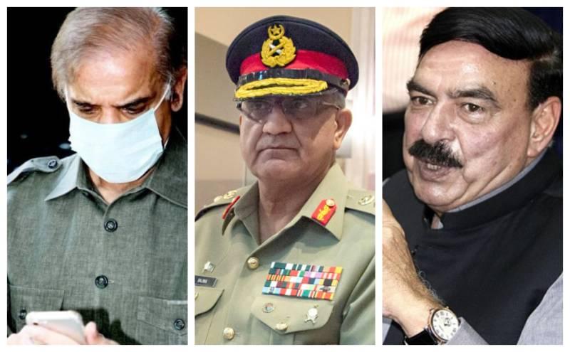COVID19 — Pakistan Army chief inquires after Shehbaz Sharif, Sheikh Rasheed