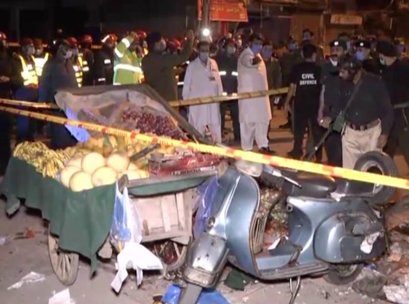 Man killed, three injured in Rawalpindi explosion: police
