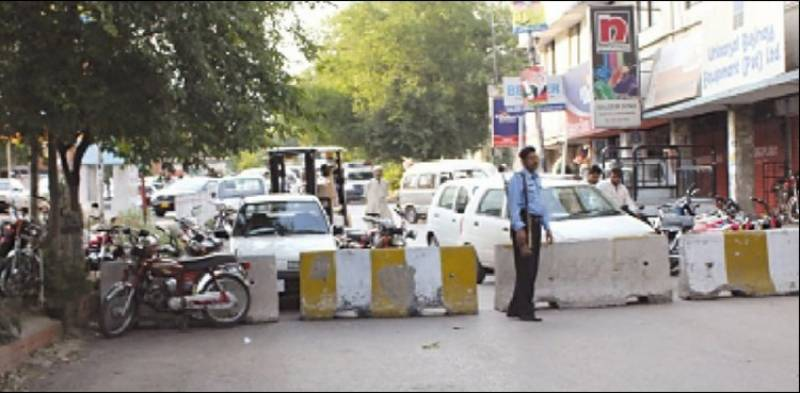COVID-19: Smart lockdown imposed in G-9/2 & G-9/3 and Markaz Karachi Company areas of Islamabad