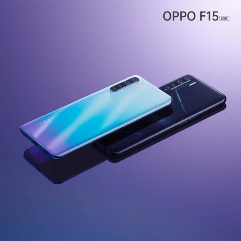OPPO F15 with quad rear cameras launched in Pakistan, price, specifications