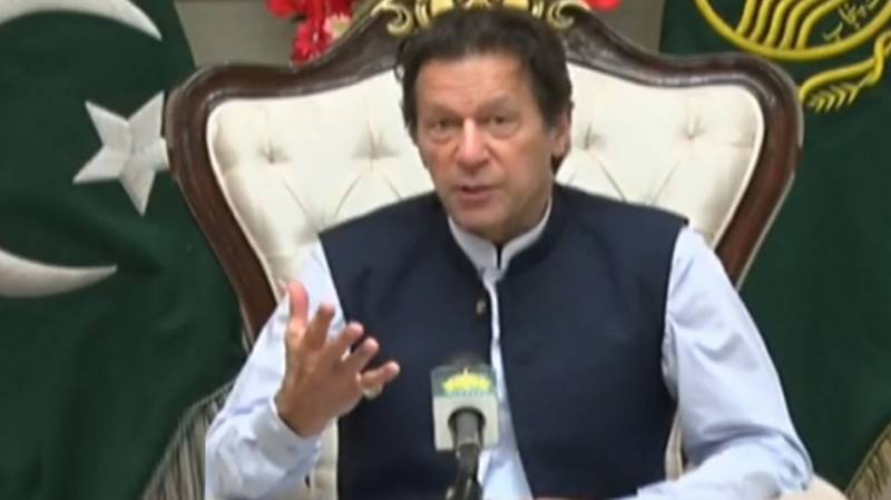 PM Imran rejects impression of imposing lockdown to control COVID-19