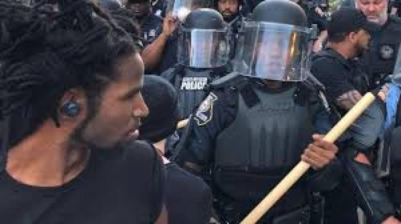 Protests erupt after police kill 'black man' during arrest in Atlanta