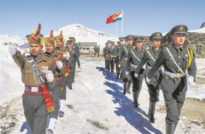 Indian troops unilaterally tried to change status quo after crossing LAC: China