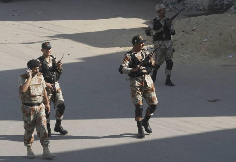 Cracker attack kills one near Ehsaas Program office in Karachi