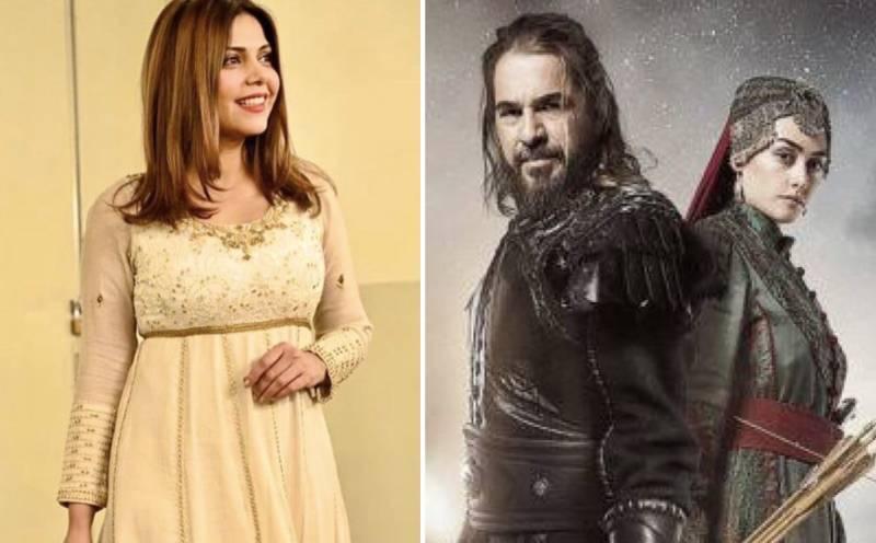 Hadiqa Kiani's tribute to 'Diriliş: Ertuğrul' is the best thing on the internet today