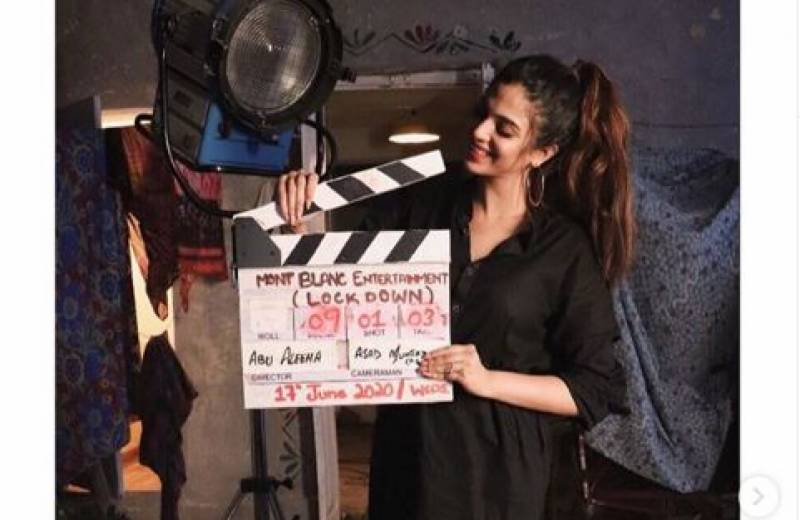 Shooting begins for our film Lockdown, set to be released on Netflix: Sonya Hussyn