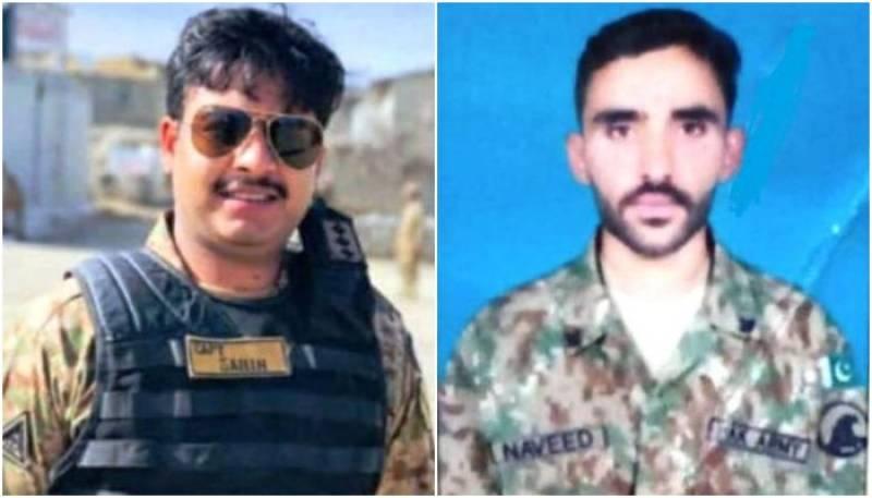 Captain, soldier martyred in Waziristan terrorists attack: ISPR