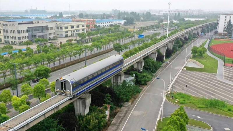China's 600 km/h high-speed maglev train completes trial run