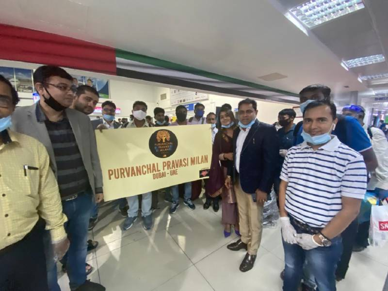 Repatriation effort for Purvanchal region sees 350 Indians fly home from UAE