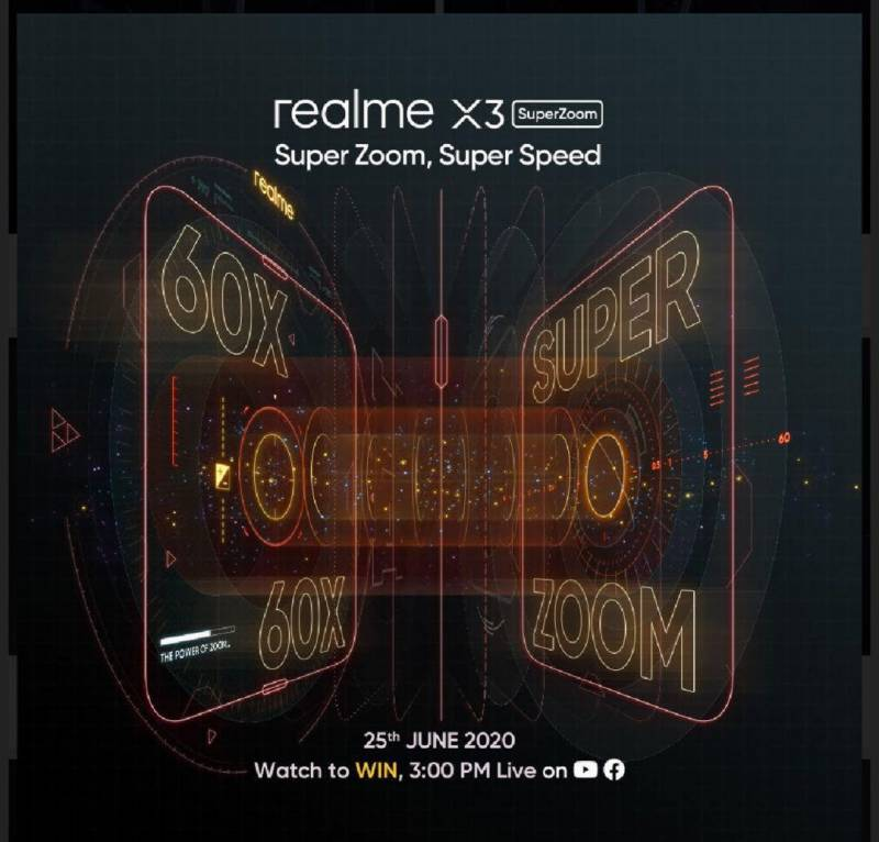 realme X3 Super Zoom with 60x Hybrid Zoom to be launched on Thursday