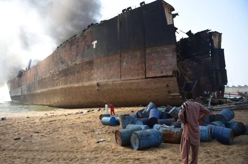 Pakistan reopens Gadani Ship Breaking Yard amid COVID-19 pandemic