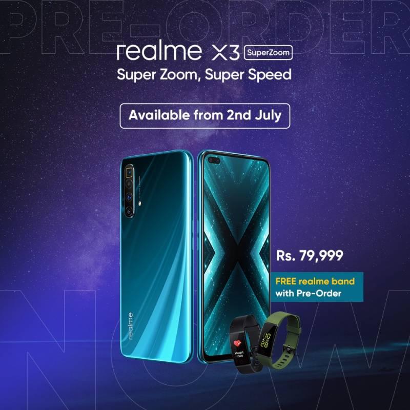 realme launches realme X3 SuperZoom in Pakistan